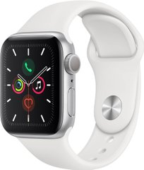 Apple Watch 5 40mm, Silver (MWV62)
