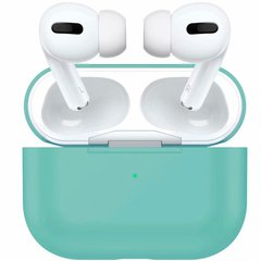 Чехол для Airpods Pro Silicon Mint