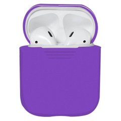 Чехол для Airpods 2 Silicon case Violet