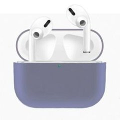 Чехол для Airpods Pro Silicon Lavender Gray