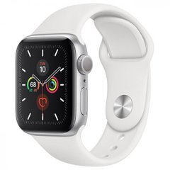 Apple Watch 5 44mm, Silver (MWVD2)